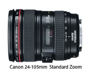 Canon standard zoom lens 24-105