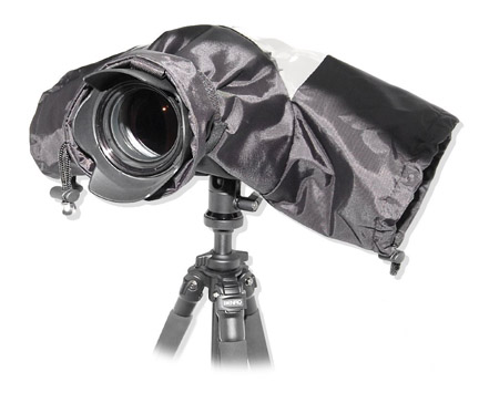 Canon camera rain protection