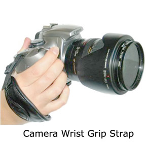 Canon camera wrist grip strap