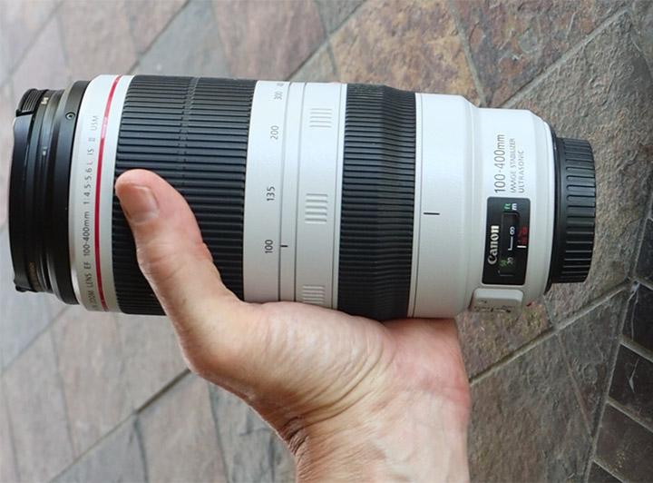 Hand held Canon 100-400 II