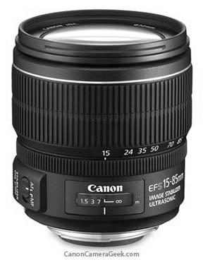 Canon 15-85mm kit lens