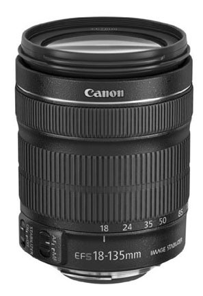 Canon EF-S 18-135 lens With IS