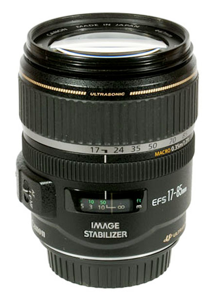 Photograph of a Canon EF-S lens
