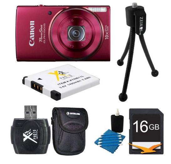 Canon ELPH Bundle on Amazon