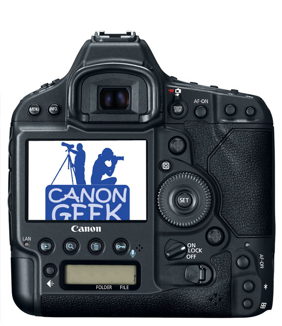 Canon EOS 1Dx Mark Back