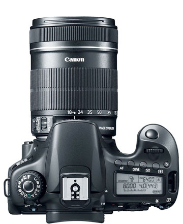 Canon EOS 60D with 18-135mm Lens Attached