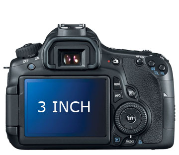 60d 3 inch LCD Screen