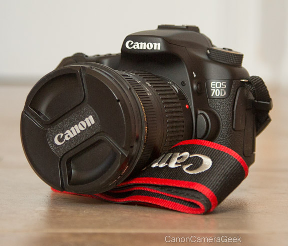 Canon EOS 70D and Strap