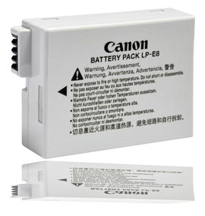 Canon EOS Rebel T3i Battery
