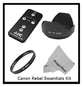 DSLR accessory kit