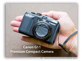 Canon G11-premium compact camera