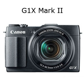 Solo photo of Canon G1X Mark II