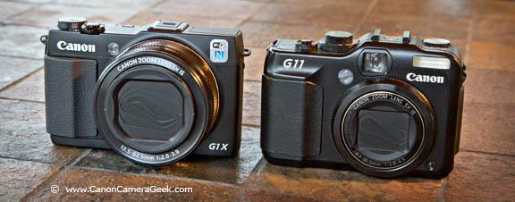 Canon G1x Mark II vs Canon G11