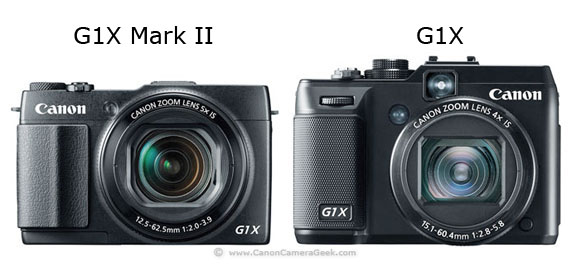 Photo comparison of G1X Mark II vs G1X