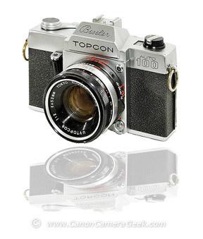 Beseler Topcon camera