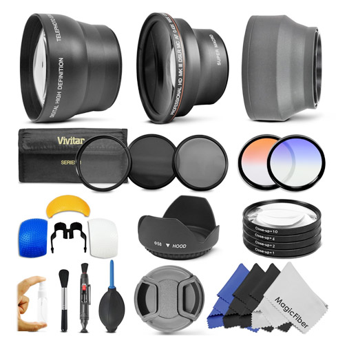 Canon lens and cleaning accessory kit