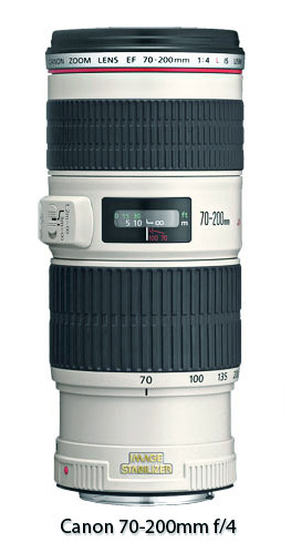 Photo of Canon 70-200 f-4 Lens