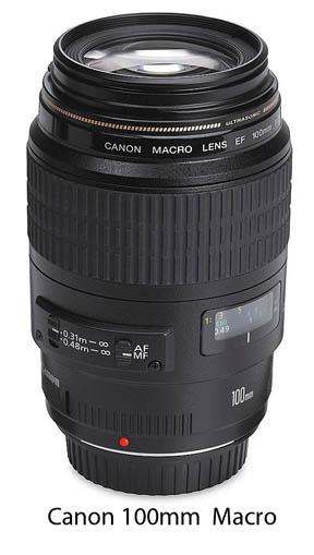 Canon Macro Lens-100mm