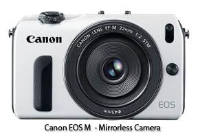 Canon EOS MirrorLess Camera