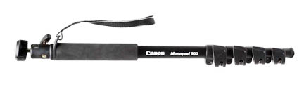 The Canon 500 monopod replaces the Canon 100