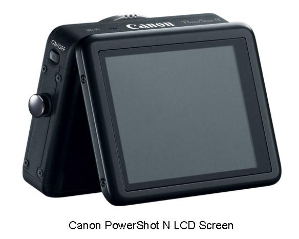Canon PowerShot N - LCD Screen