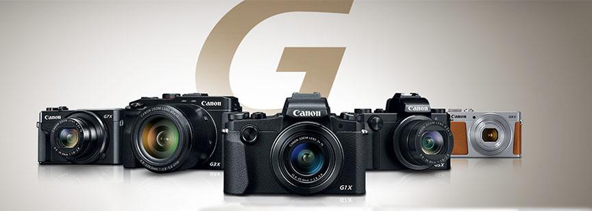 Canon Powershot G Screenshot