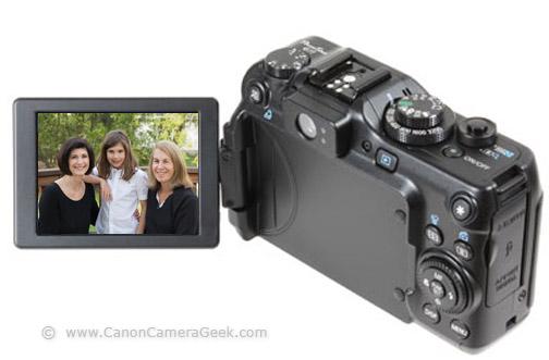 Canon Powershot G11 Articulating LCD Screen
