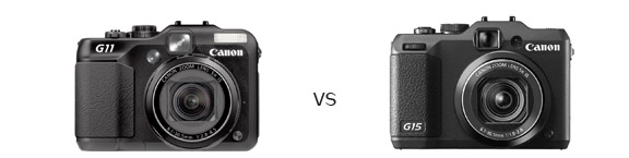 Canon Powershot G11 VS G15 Comparison