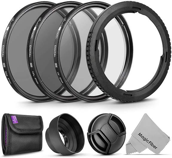 Canon Powershot filter kit