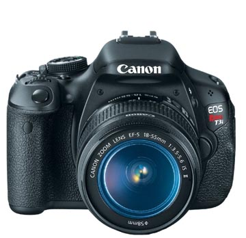 Canon Rebel 3ti Camera Front view