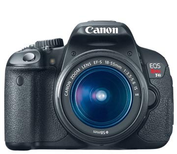 Canon Rebel 4ti Camera Front view