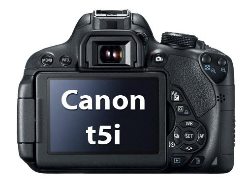 Canon Rebel t5i Entry-level DSLR