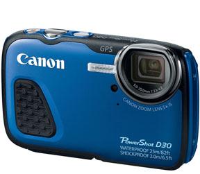 Canon Waterproof Camera