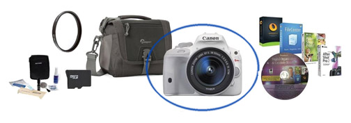 Canon SL1 Camera Bundle