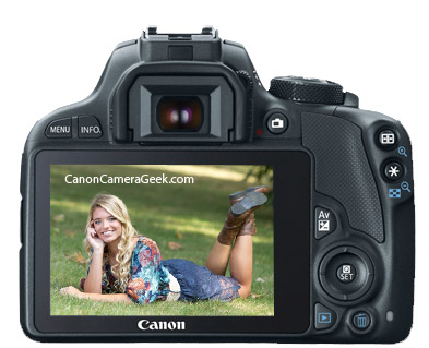 Canon SL1 LCD Screen
