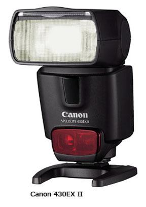 Canon Lens Rebate includes the Speedlite 430EX-II