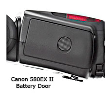 Canon Speedlite 580EX II Battery Door