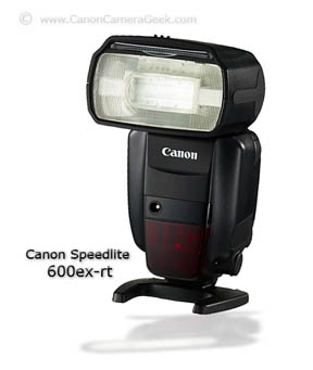 Photo of Canon Speedlite 600ex-rt Flash