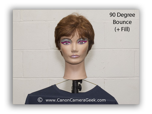 Canon Speedlite Portrait with 270EX ii-bounced flash and fill light