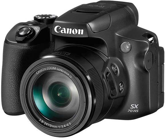 Canon SX70 camera