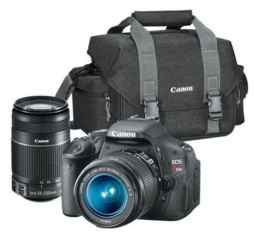 Typical Canon DSLR Camera Bag