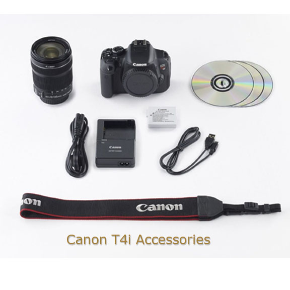 Canon T4i Accessories