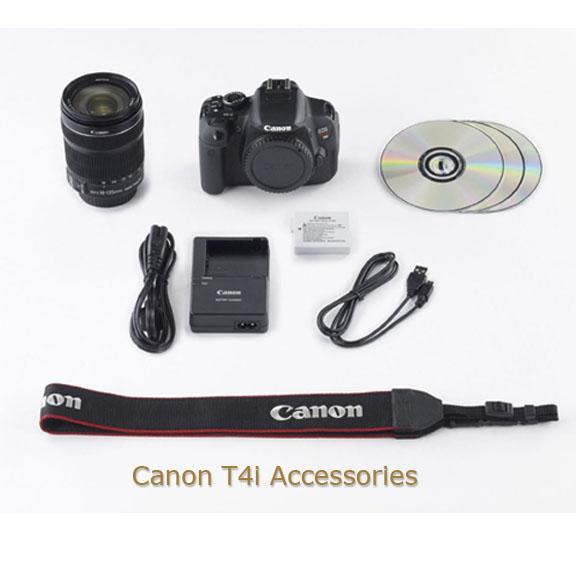 Canon T4i Accessories