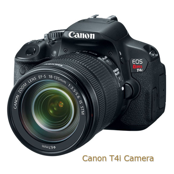 Canon T4i Camera - Front view