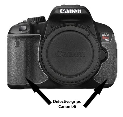 Canon T4i - Recalled Defective Grips