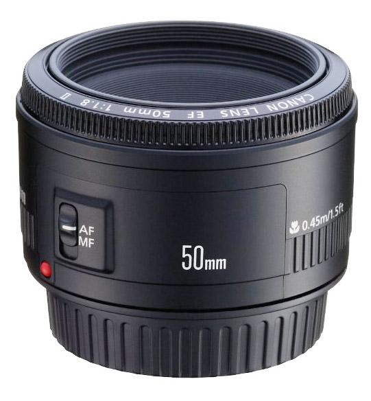 Cheap Canon 50mm f1.8 camera lens