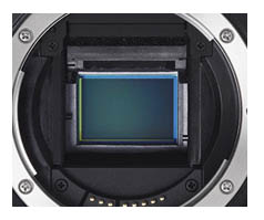 Sensor Inside the Canon EOS 70D