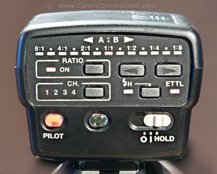 Close Up Photo of Canon Speedlite Transmitter ST-E2