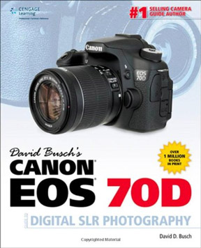 David Busch's EOS 70D Book