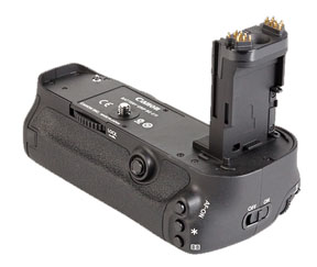 Diagonal View of Canon Battery Grip BG-E11